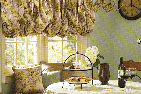 Fredericksburg Decorated Fabric Shades Window Treatments