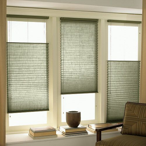 Fredericksburg Pleated Shades Window Treatments